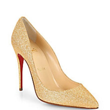 Christian Louboutin - Pigalle Glitter Pumps - Saks Fifth Avenue Mobile