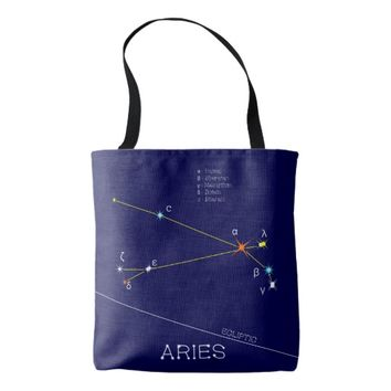 Constellation ARIES unique, sublime Tote Bag
