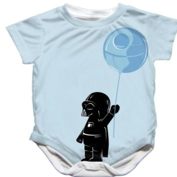 Adorable Handmade Star Wars Darth Vader Onesuit - Available 0-24 Months