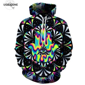 Trippy Triangle Eye 3D Hoodies Men Women New Fashion Autumn Winter Pullover Hoodie Sweatshirt Casual Hip Hop Tracksuit Dropship