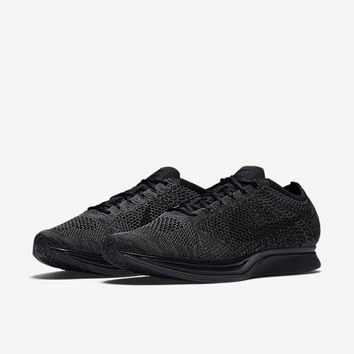 The Nike Flyknit Racer Unisex Running Shoe.