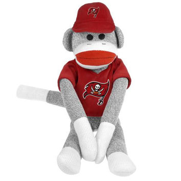 Tampa Bay Buccaneers NFL Plush Uniform Sock Monkey