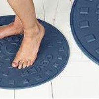 Manhole Bath Mat by Lucy Turner for Suck UK - Free Shipping