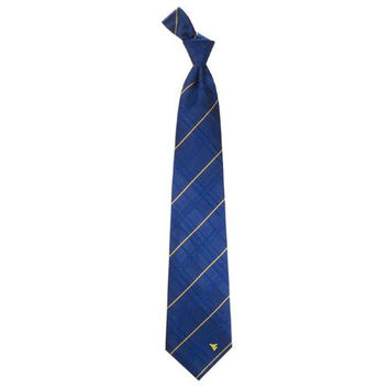 West Virginia Mountaineers NCAA Oxford Woven Mens Tie