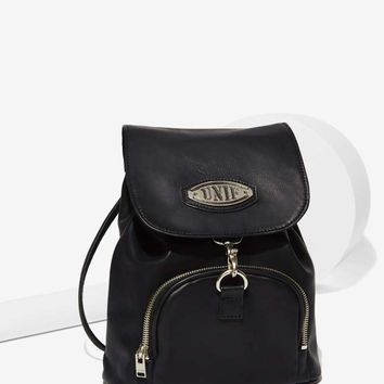 UNIF Quip Vegan Leather Mini Backpack