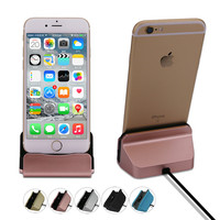 Leebote Original Charger Dock Station Stand Cradle Data and Sync USB Cable Dock Charger for iPhone 7 7 Plus 6 6S Plus 5 5S SE 5C