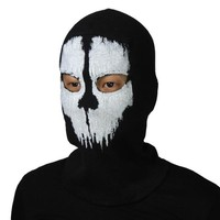 LifeShopping SUAVO Ghosts Face Balaclava Bike Skateboard Cosply Costume Skull Mask