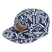 Men's Obey 'Tabora' Five Panel Camp Cap - Blue