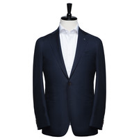 Midnight Navy Hopsack -Slim Fit - Dress shirts | Spier & Mackay