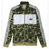 """Adidas"" Men Fashion Cardigan Jacket Coat"