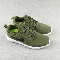 Nike Roshe Two Run 2 Men Women Running shoes Color Green