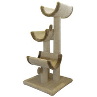 "Majestic Pet Products 51"" Kitty Cat Jungle Gym - Furniture & Towers - Furniture & Scratchers - PetSmart"
