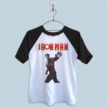 Raglan T-Shirt - Robert Downey Jr