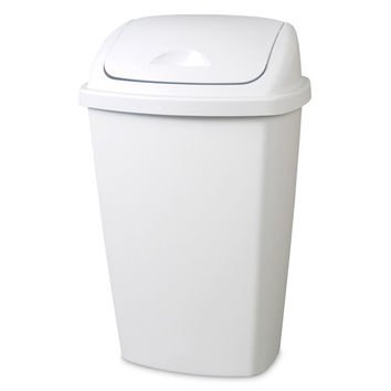 Waste Basket 54 Quart Swing Lid