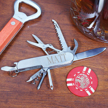 Personalized Multi-Tool Pocket Knife