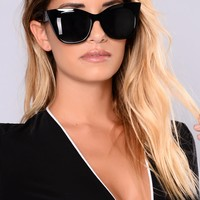 Not My Problem Sunglasses - Black