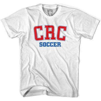 Costa Rica CRC Soccer Country Code T-shirt-Adult