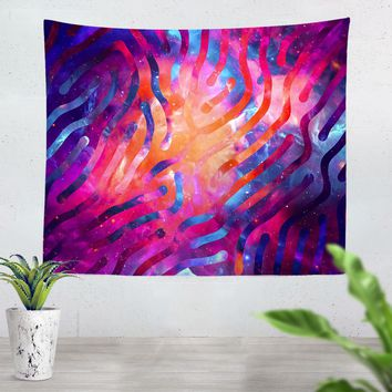 Galaxy Lines Tapestry