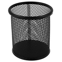 Metal Office Space Supply Mesh Pen Pencil Holder Desk Organizer Black