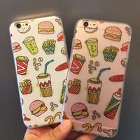 Stylish Cute Hot Deal Iphone 6/6s Hot Sale On Sale Creative Couple Phone Case [6034143233]