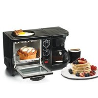 3-in-1 Multifunction Breakfast Deluxe Dorm Meal Recipes Cooking Snacks Coffee College Living