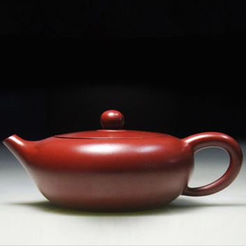 Authentic handmade Zisha clay tea pot