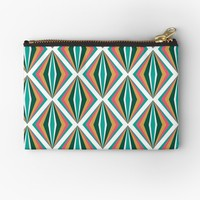 'Segmens (Pineapple)' Studio Pouch by Kerry-Symetria