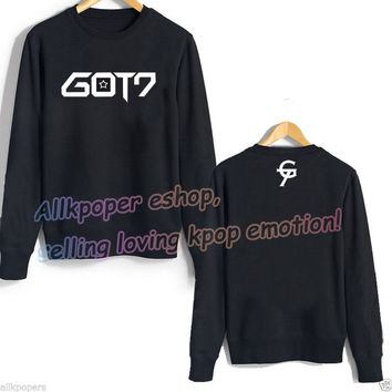 KPOP GOT7 Jackson Hoodie Sweater Pullover Fleece Coat Hoody BamBam Jackson Jr JB