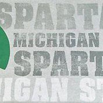 Michigan State Spartans NCAA Sweatshirt Poly/Cotton Throw
