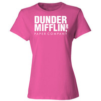 The Office Dunder Mifflin Paper Company - Ladies' Cotton T-Shirt