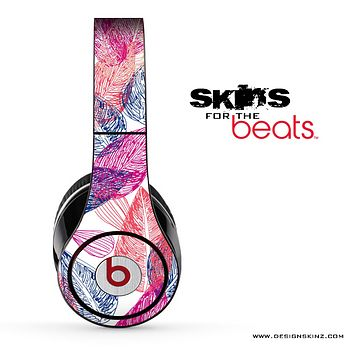 Color Sketch Leaves Skin for the Beats by Dre