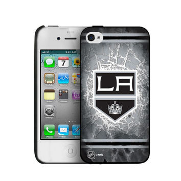 Iphone 44S Hard Cover Case - Los Angeles Kings