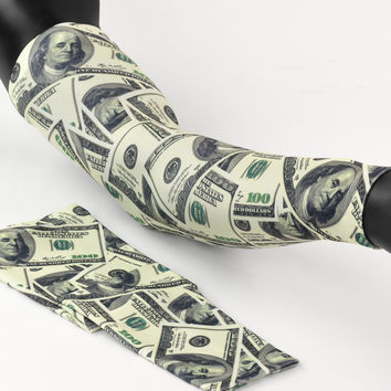 Money Benjamins Arm sleeve