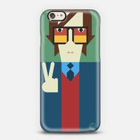 Simple Jarvis Cocker iPhone 6 case by Simple People | Casetify