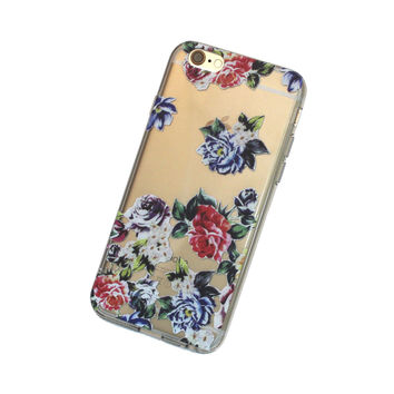 iPhone Vintage Roses Case