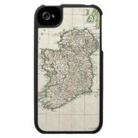 Vintage Map of Ireland (1771) Iphone 4 Cover