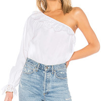 Joie Arianthe Blouse in Clean White