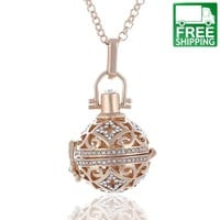 Angel Ball Perfume Diffuser Necklace