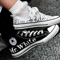 MADE TO ORDER - Wedding Converse