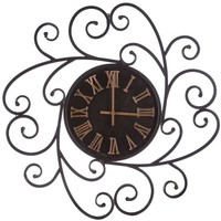 Metal Wall Clock with Scroll Design | Shop Hobby Lobby