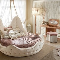 Classic style wooden for girls 261 - Stella Marina Cordage Collection by Caroti