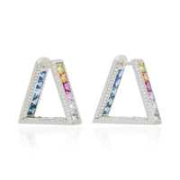 One-of-a-Kind Crescent Rainbow Earrings | Moda Operandi