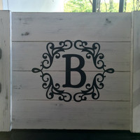 Personalized Serving Tray - Rustic Serving Tray - Breakfast Tray - Wooden Tray - Decorative Tray - Rustic Home Decor - Serving Platter
