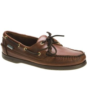 Sebago Schooner Brown Leather Boat Shoe