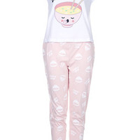 Miso Sleepy Pyjama Set - Pink