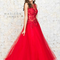 Madison James Prom 15-131 Madison James Lillian's Prom Boutique