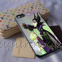 Maleficent Disney Cover - iPhone 4 4S iPhone 5 5S 5C and Samsung Galaxy S3 S4 S5 Case