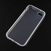 {Factory Direct Sale} Ultra Thin Transparent Soft TPU Silicone Gel Case Skin Protector Cover for iPhone 5C Crystal Clear