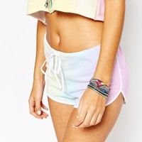 Wildfox Dream Tie Dye Pool Party Shorts
