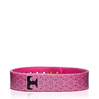 Tory Burch for Fitbit Silicone Printed Bracelet